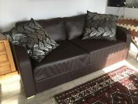 Nabru self assembly double sofa bed