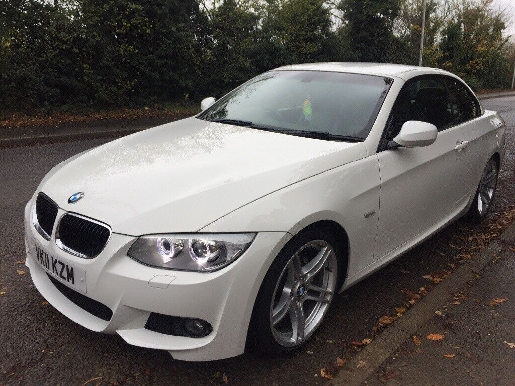 BMW 320d Convertable Hard Top, Immaculate. £10250