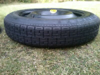 New Pirelli 125/85 R16 Spacesaver Tyre and Wheel for Ford Mondeo