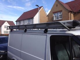Roof rack and pipe tube for ford Transit van
