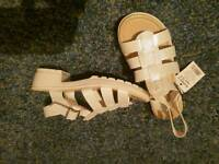 Girls summer brand new sandals in size 2