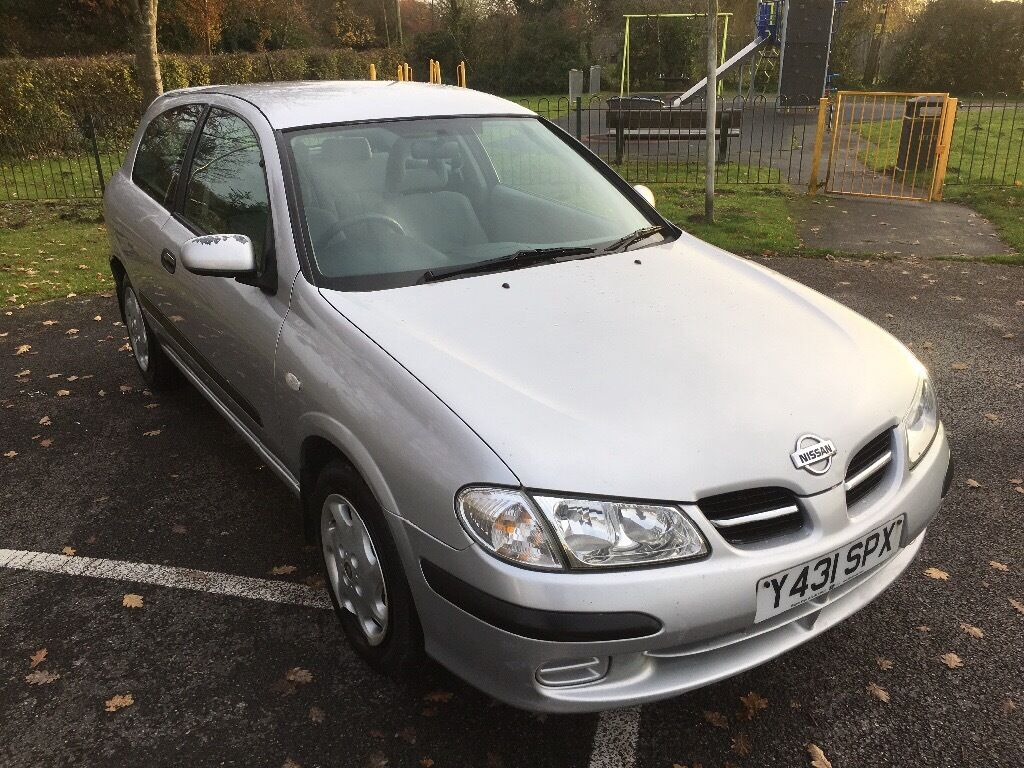 2001 nissan almera 1 8 silver 3 door hatchback se in. Black Bedroom Furniture Sets. Home Design Ideas