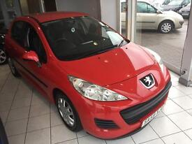 PEUGEOT 207 1.4 S 5dr [AC] (red) 2009