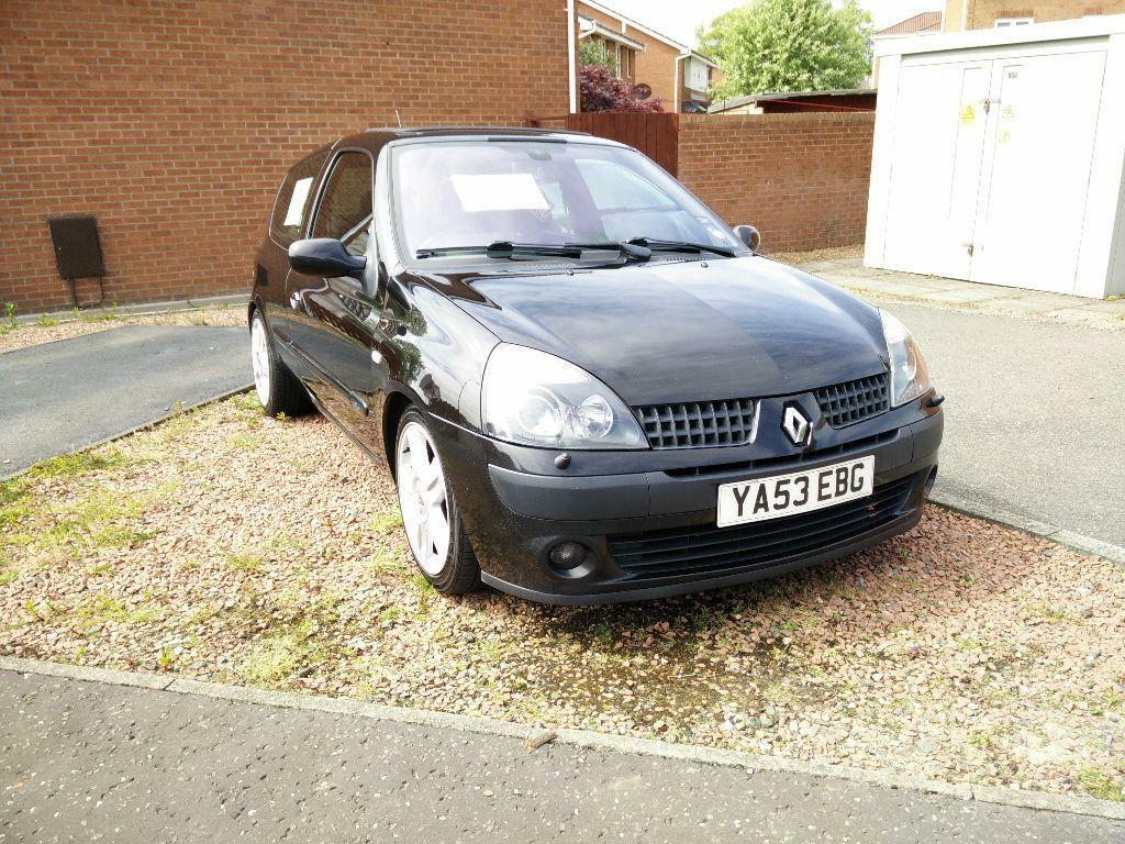 2004 renault clio dci 100 60 mpg cheap tax in larbert falkirk gumtree. Black Bedroom Furniture Sets. Home Design Ideas