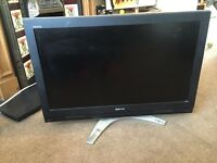 36 inch Toshiba TV with remote