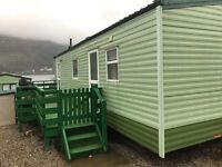 Static caravan on a beautiful site with all amenities. Cosalt Albany 2004 with 2nr bedrooms.