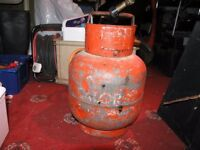 Calor Gas Propane Small Red Calor Gas Bottle, Hose And Blowlamp