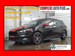 2015 Ford Focus ST Turbo *Navi/GPS,Cuir,Mags 2 tons