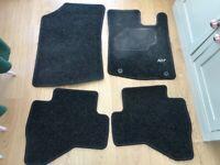 Peugeot 107 tailored car mats