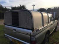 L200 ifor williams truck back