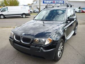 2005 BMW X3 2.5i PREMIUM PACKAGE/LEATHER/PANO ROOF/ALLOYS