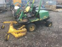 Old John deere diesel lawn mower tractor spares repairs project