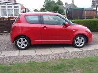 Selling 56 plate suzuki swift MOT till 3rd january 18 very low milage 46739