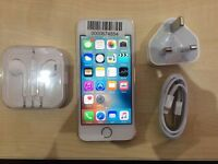 IPHONE 5S GOLD / UNLOCKED / 16 GB/ VISIT MY SHOP. / GRADE A/1 YEAR WARRANTY + RECEIPT