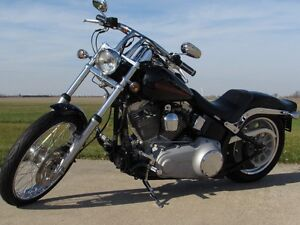 2007 harley-davidson FXST Softail   $4,000 In Options and Custom London Ontario image 2
