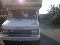 Hymer camp motorhome 1993 turbo diesel 5 berth