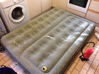 Coleman Double Air bed / inflatable mattress 6ft with footpump FREE Dalston