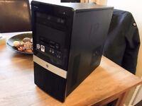 Desktop PC Base Unit Intel Quad Core Q6600 2.4ghz, 4Gb Ram, 500gb HD, Nvidia 9600GT Graphics Card