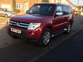 2008 Mitsubishi Shogun 3.2DID Warrior 12months MOT Great Condition