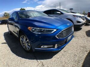 2017 Ford Fusion SE | LEATHER | NAVIGATION | SUNROOF | LOW % RAT