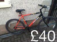gents Mountain Bikes £25 - £80 mountain bike cycle