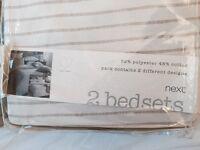 NEW Double duvet cover feom NEXT (retail price £37)
