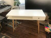 Habitat Cato white desk home office