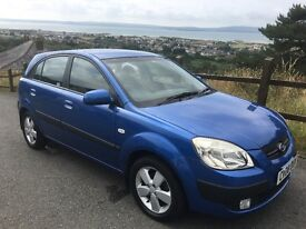 Kia Rio 1.5 CRDI Diesel 5 Door Blue Long MOT ONLY £30 Tax Absolute Bargain Reduced from £1750