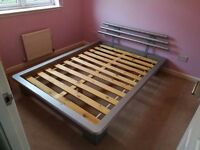 4'6 double bed complete or will sell separately
