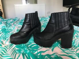 Office boots, SIZE 4 NEED TO GO!