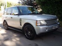 06 MDL RANGE ROVER VOGUE TD6 *FULLY LOADED* TV SAT NAV SUNROOF!! NOT BMW X5 ML Q7 73OD 530D M3 M5