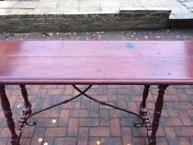 Console table 5ft long 3 ft tall