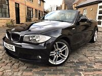 BMW 1 Series 2.0 120i M Sport 2dr **1 YEAR AA COVER**YEARS MOT* 2011 (11 reg), Convertible