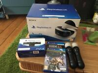 PS4 PlayStation VR headset camera & games