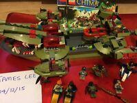 LEGO Chima croc boat