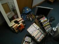 Tv DVDs CDs books