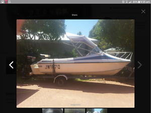 seafera with 90 merc low kms 10 000 ono Urangan Fraser Coast Preview