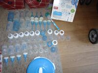 Dr Brown 12 bottles 24 teats bundle