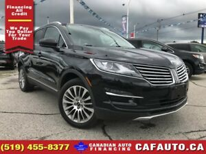 2015 Lincoln MKC | AWD | LEATHER | NAV | PANO ROOF