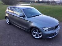 BMW 118D Sport 2.0L 3Dr In Prestige Condition! FULL BMW SERVICE HISTORY/1 Year MOT/HPI Clear