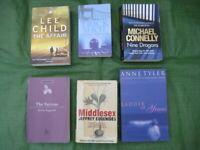 6 Modern Mystery Novels for £4.00