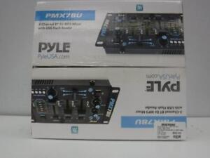Pyle 3 Channel Bluetooth DJ MP3 Mixer. We sell new and used DJ equipment. 109563 CH626404