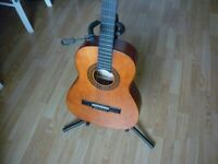 Stagg classical, case and strap