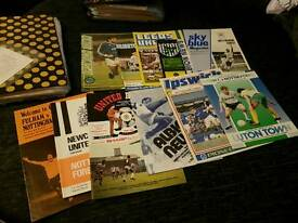 Nottingham forest programmes and a ticket