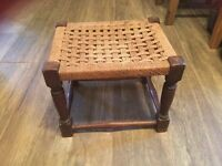 Lovely Old Footstool £10 buyer collect Wallingford