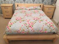 Beech Wood Double Bed