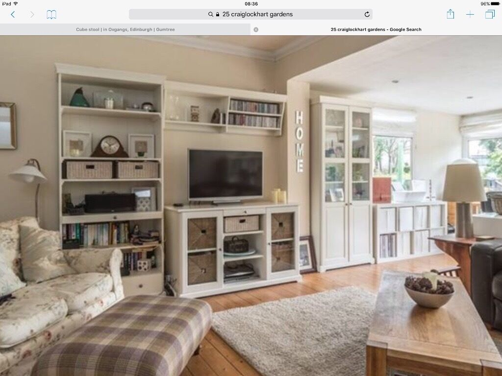 Artesanato Em Mdf Decorado ~ White ikea liatorp sideboard in Colinton, Edinburgh Gumtree