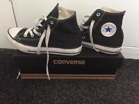 Converse All Star Hi Black Size 1