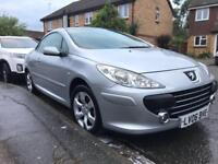 Peugeot 307cc 2.0 only 48000 miles