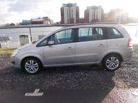 Vauxhall Zafira 1.6 Elegance 7 seats 62000 fsh should be seen